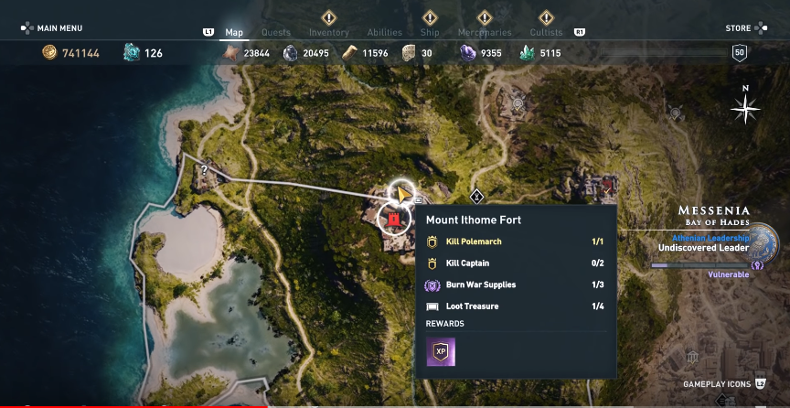 Where To Find Hades Bident In Assassin S Creed Odyssey
