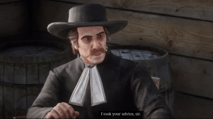 Red Dead Redemption 2 Who Is Without Sin