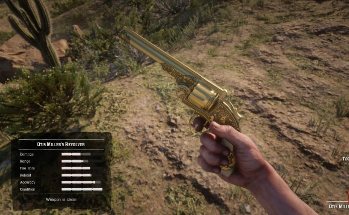 Red Dead Redemption best revolver
