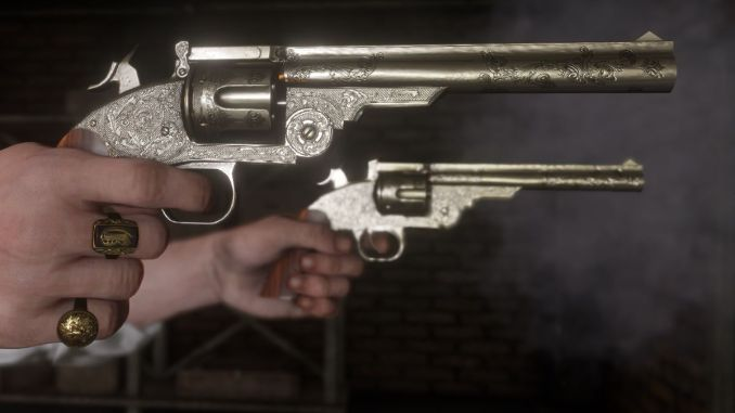 Red Dead Redemption 2 best revolver